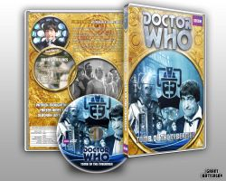 Doctor Who - Tomb of the Cybermen Custom DVD Cover by GrantBattersby