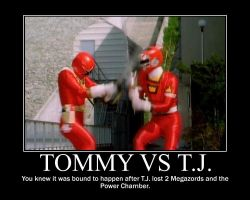 Tommy vs TJ by maybetoby