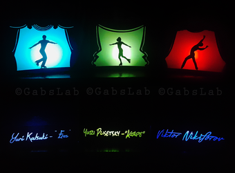 Make History - Yuri on Ice Lanterns by HimeGabi