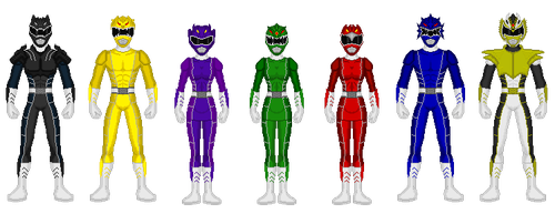 Kaiserverse - Power Rangers Mythical Beasts by Kaiserf11