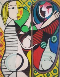 Picasso - Girl Before a Mirror by Gava224