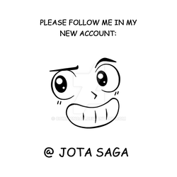 FOLLOW ME IN MY NEW ACCOUNT! by CommonCat