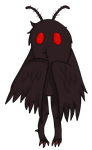 COM: Mothman Chibi 3/3 by Turquoise-Cherry