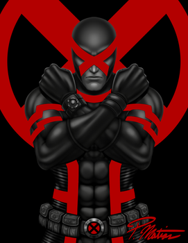 X-Men's Cyclops - Leader of the Mutant Revolution by BW-Straybullet