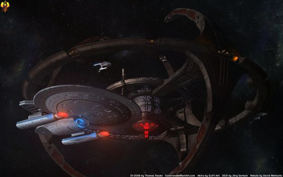 25 Years Star Trek Deep Space Nine by Euderion