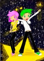 Cosmo and Wanda by Checker-Bee