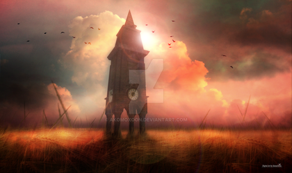 The old Clocktower by AkomoXoon