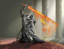 Lorian and Lothric by YeastSoldier