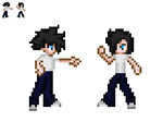 Sprites of me! by BlakeAndAngelOnDA