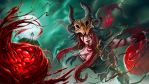 Blood Cabalist Syndra by TheClintHennesy