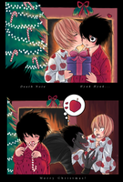 Death Note - Christmas Cards by Hyura