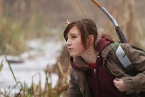Ellie (winter) - The last of Us cosplay by Juriet