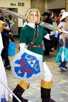 Link at the Otakon Marketplace by icequeenserenity
