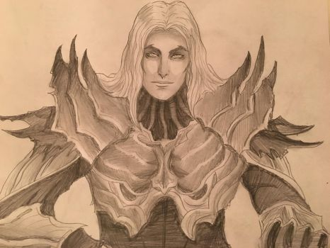 Sauron of the Second Age by InabiUchiha98