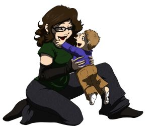 Mommy and Baby - 2012 by BethanyAngelstar