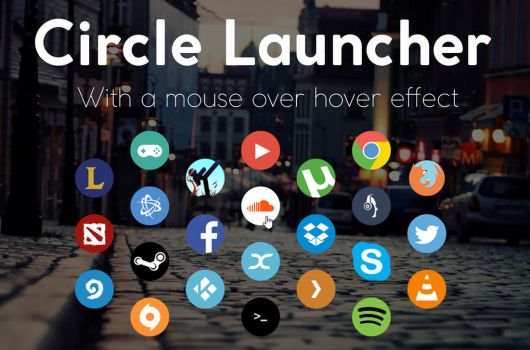 Circle Launcher 2.11 - 03-Aug-2016 by Lybrica