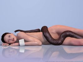 The Girl and the Serpent by DevilishlyCreative