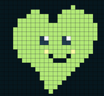 Green heart by darknessquiet