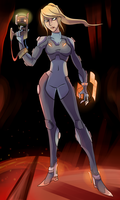 Zero Suit Redesign (Contest) by AndrewMartinD