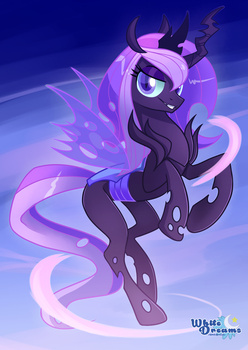 Changeling Queen Orchid by xWhiteDreamsx