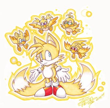 Super Tails by Frozen-Firaga