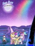 Flash Pluto and the Legend of Nightmare Moon by lightf4lls