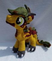 .:Commission:. Grit Plushie by MousehMakes