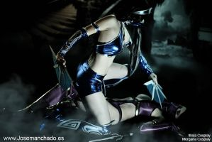 Mileena Vs Kitana - Mortal Kombat 9 by MorganaCosplay