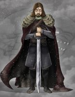 Eddard Stark - Game of Thrones Serie by Totemos