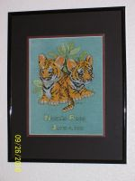 Tiger Cubs Finished by Joce-in-Stitches