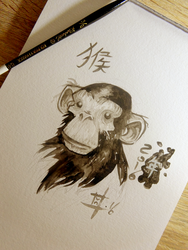Year of the Monkey by willymerry