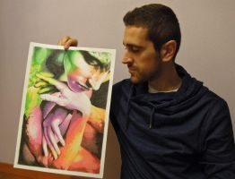 My artwork and me by fabri360