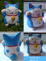 Cute Neko Sculpture by Arkeya