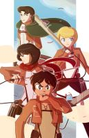 Attack on titan by Giant-cheeseburger