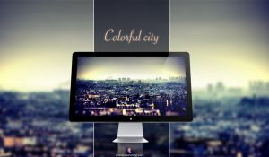 Colorful city by xhoOp