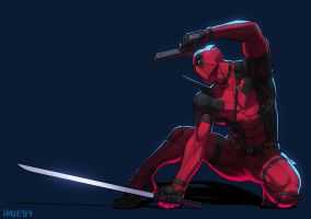 DEADPOOL fanart by Haje714