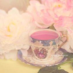 Floral tea by EliseEnchanted
