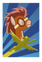 Wonderbolts Academy Poster (large) by cshep99