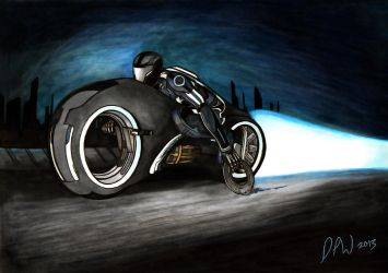 Tron Uprising Tribute by PhilWiesner