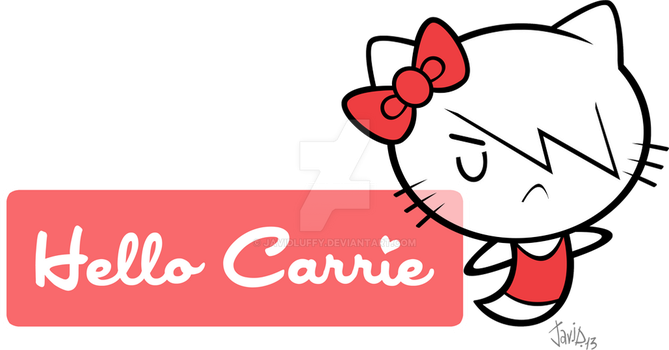 Hello Carrie by JaviDLuffy