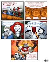 Undertale - Pies by TitanDraugen