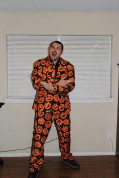 I'm David Pumpkins! by DrKaleidoscope