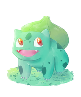 Bulbasaur by Rosyforest