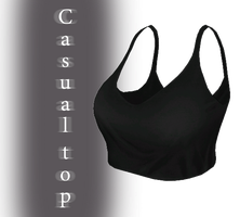 [MMD] Casual Top - DL by JoanAgnes