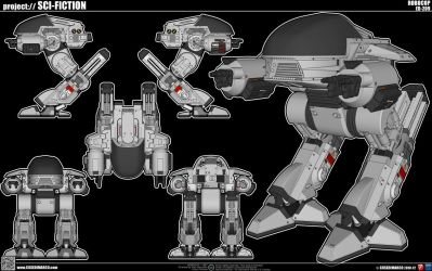 Ed-209 by cosedimarco