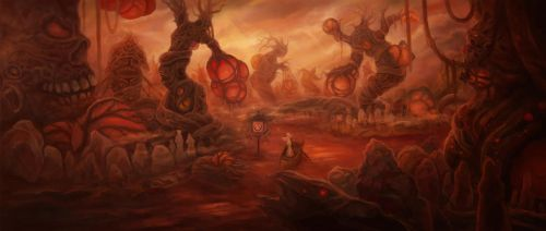 blood forest by yumor