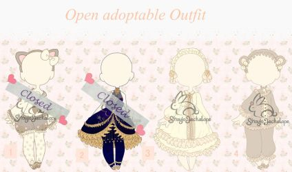 Open adoptable Outfit( 0/4) by ShojoJackalope