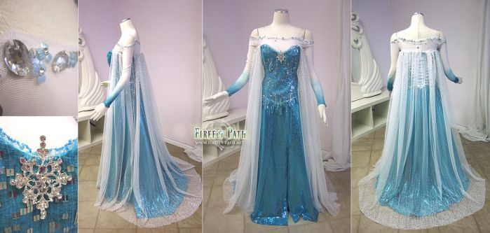 Elsa Cosplay Frozen by Firefly-Path