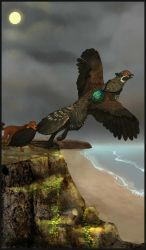 Gryphon Tarot - The Fool by Bailiwick