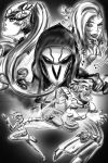 Overwatch Nemesis Comic Cover (Sketch) by SinArrow
